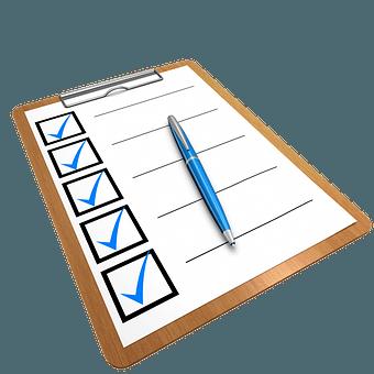 blogging checklist image